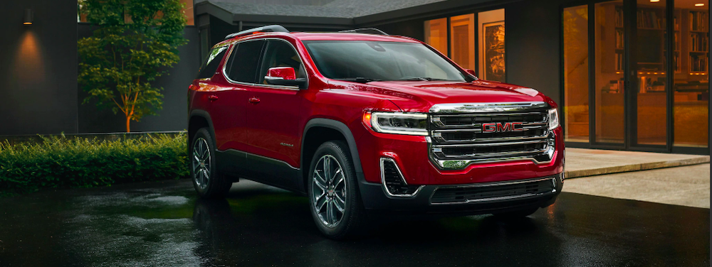 2020 gmc acadia red exterior