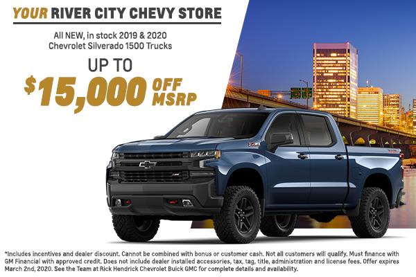 2019 and 2020 Chevy Silverado