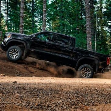2019-GMC-Sierra-1500-AT4-Off-Road-in-the-Forest