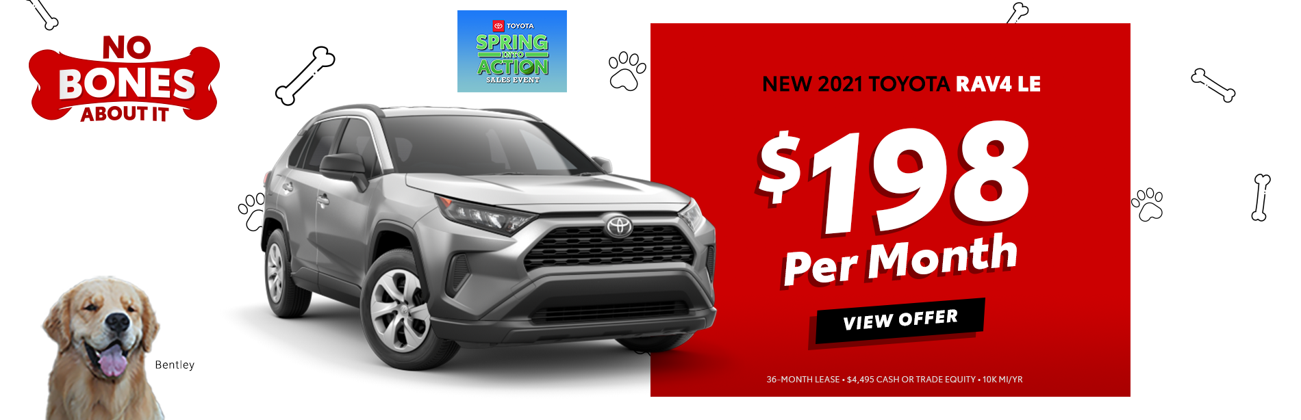 View Rochester Toyota Specials on new 2021 RAV4 select models