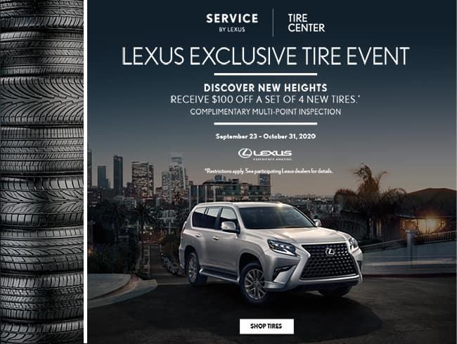 October Tire Event - Lexus