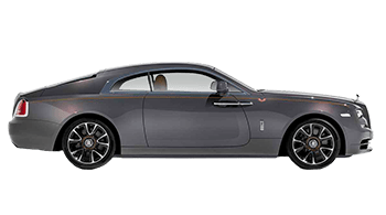 Side view of the Rolls-Royce Wraith