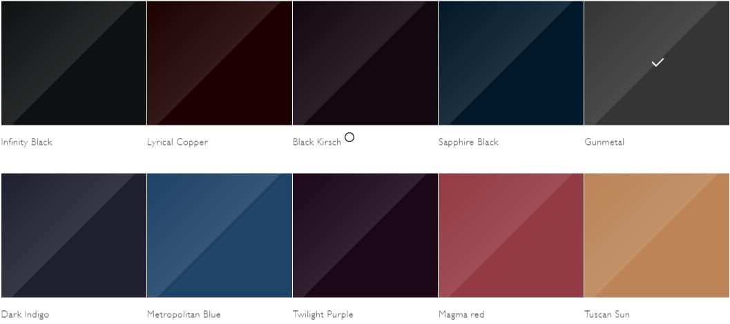 Rolls-Royce Colors