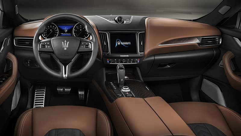 2019 Maserati Levante Dash