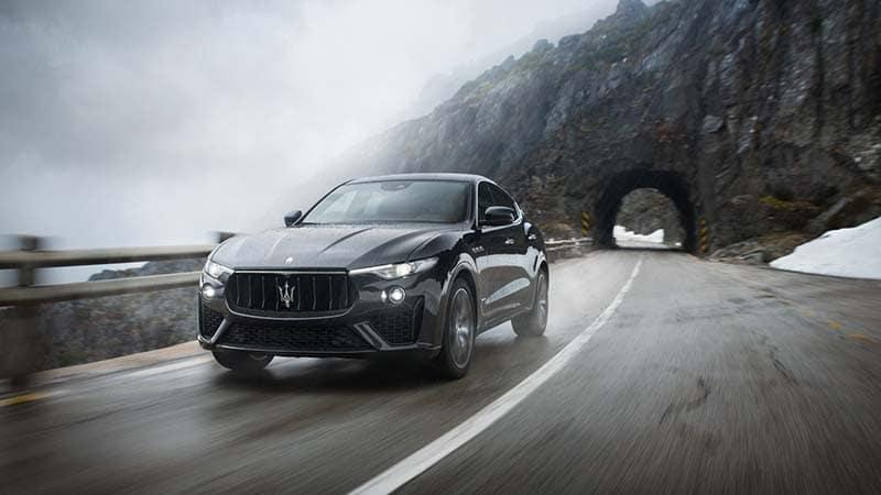 2019 Maserati Levante Driving