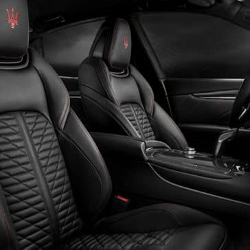 2019 Maserati Levante Seating
