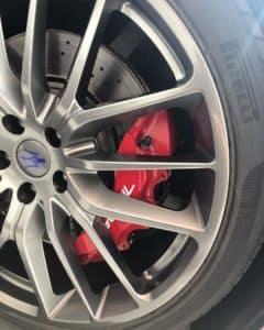 Maserati Wheel After
