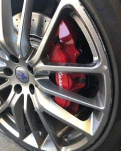 Maserati Wheel Before