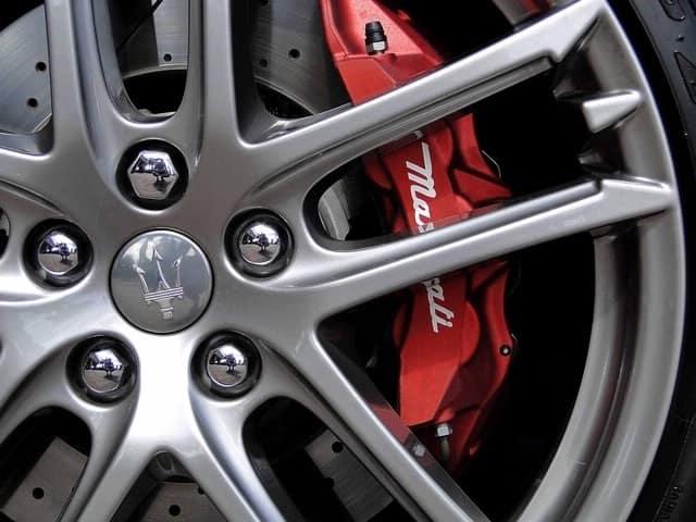 Maserati brakes