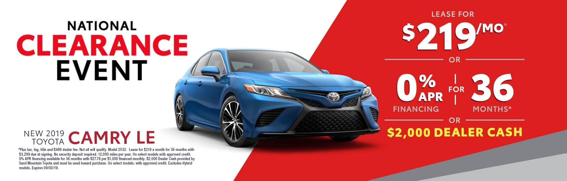 Homepage Aug Offer Toyota Camry