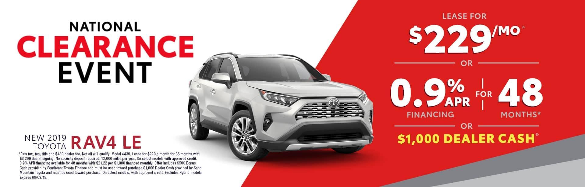 Homepage Aug Offer Toyota RAV4