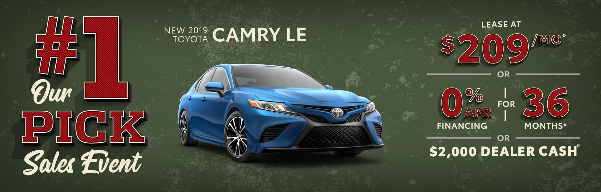 New 2019 Toyota Camry Albertville AL