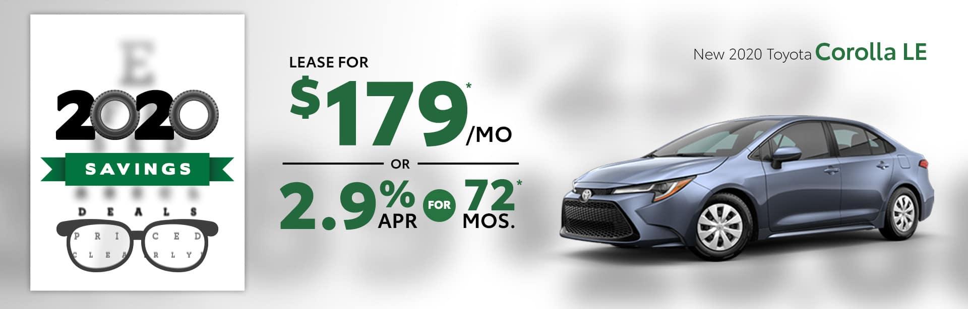 New 2020 Toyota Corolla Albertville AL