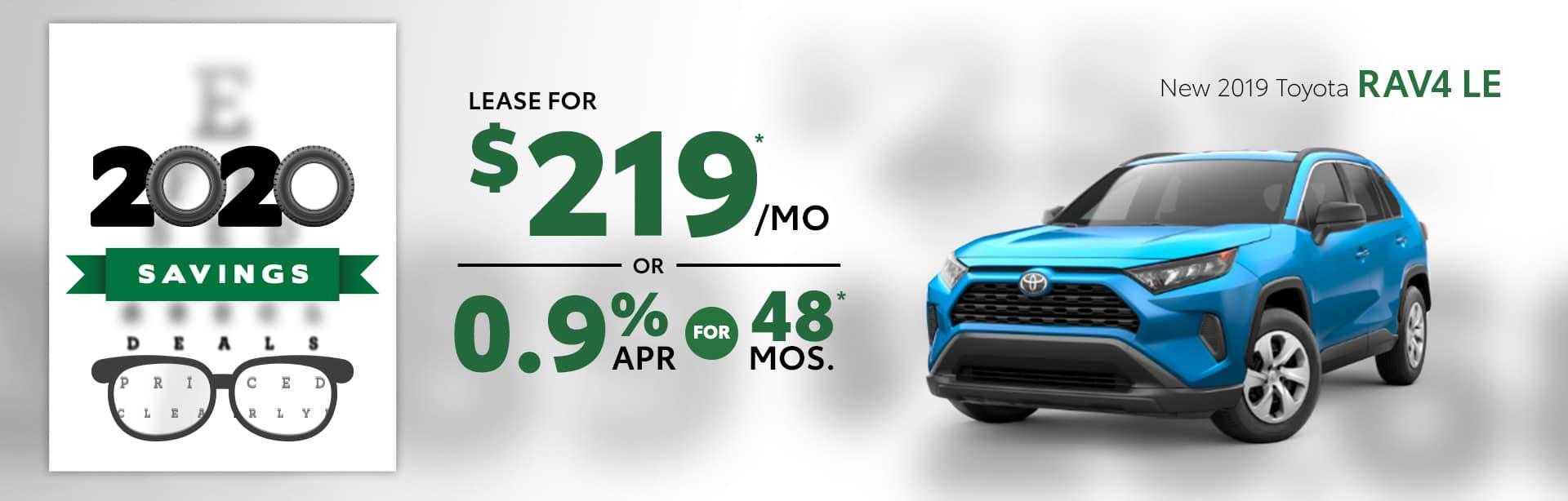 New 2019 Toyota RAV4 Albertville AL