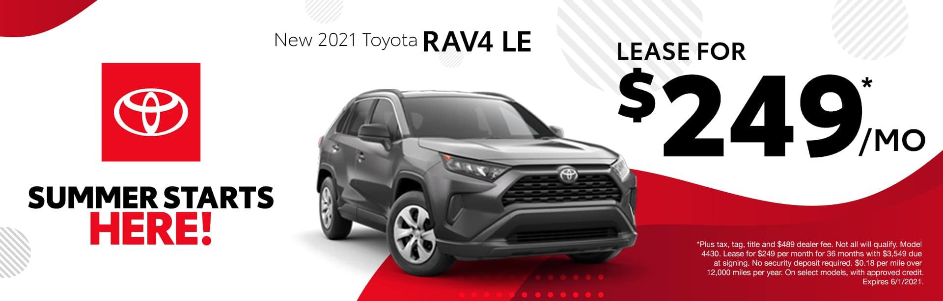 New 2021 Toyota RAV4 Albertville AL