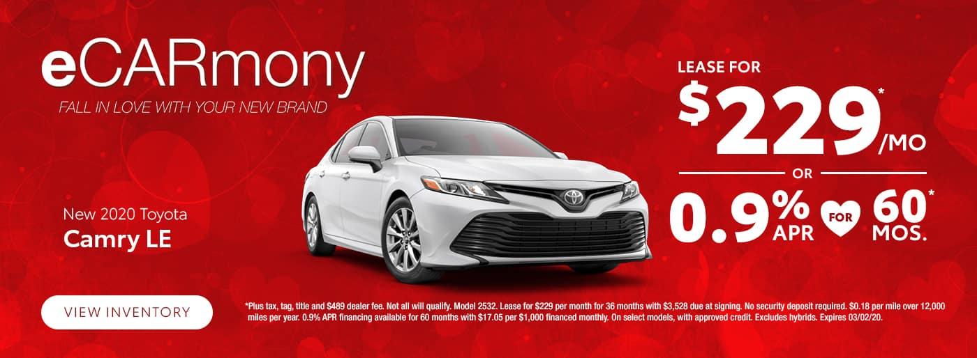 New 2020 Toyota Camry Albertville AL