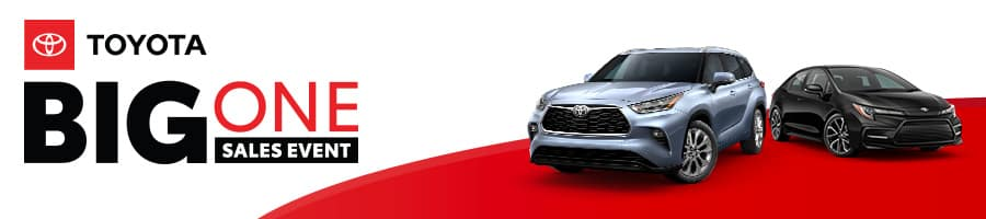 The Big One Sales Event at Sand Mountain Toyota