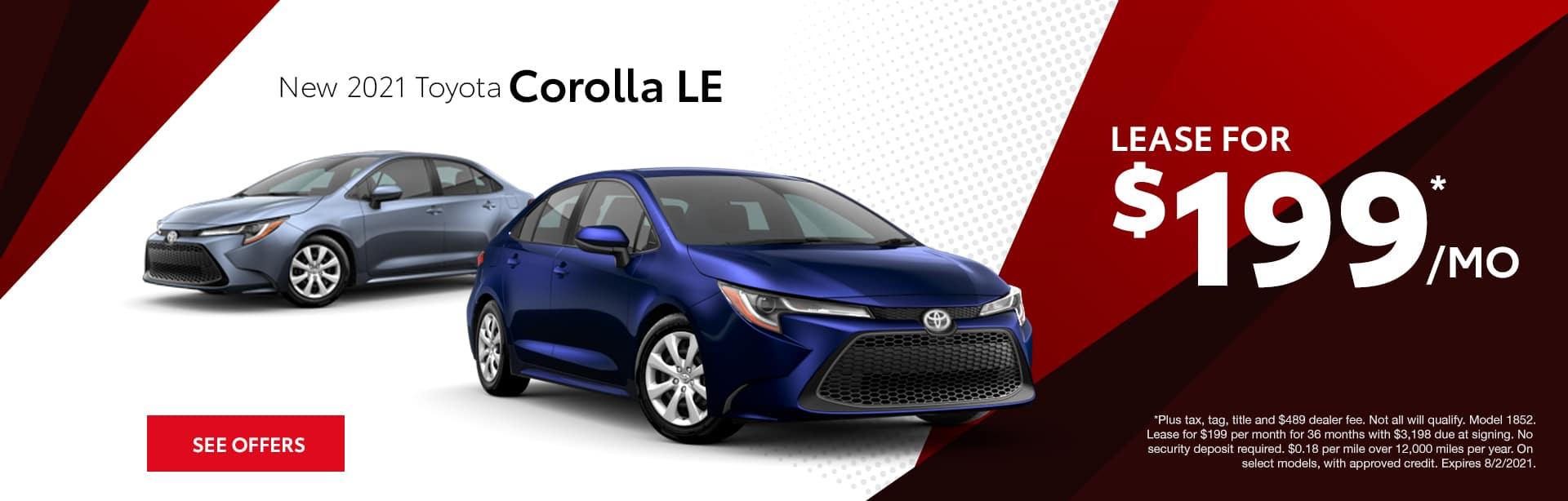 Toyota Corolla AL