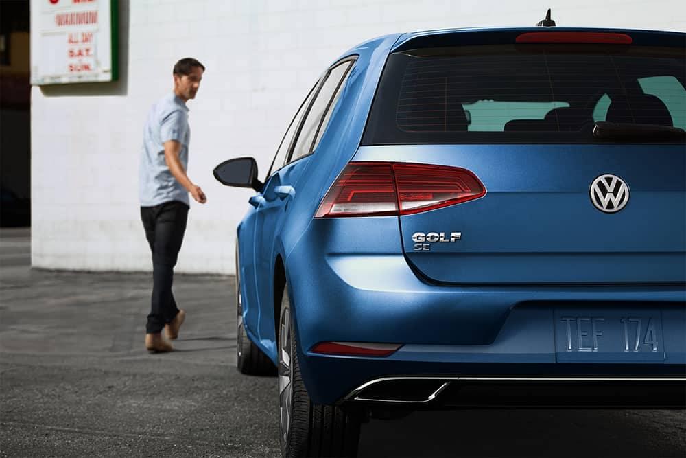 2019 VW Golf Rear