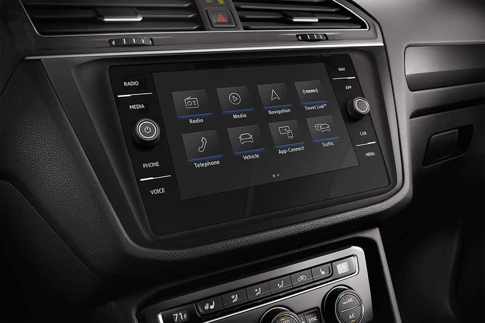 2019 Volkswagen Tiguan Touchscreen