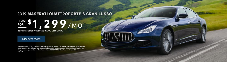 2019 Maserati Quattroporte S Gran Lusso
