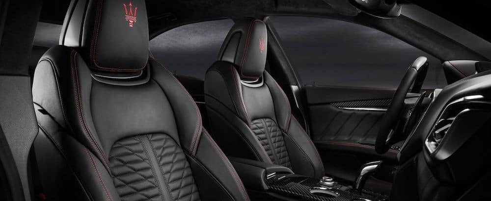 Seats in a 2020 Maserati Ghibli