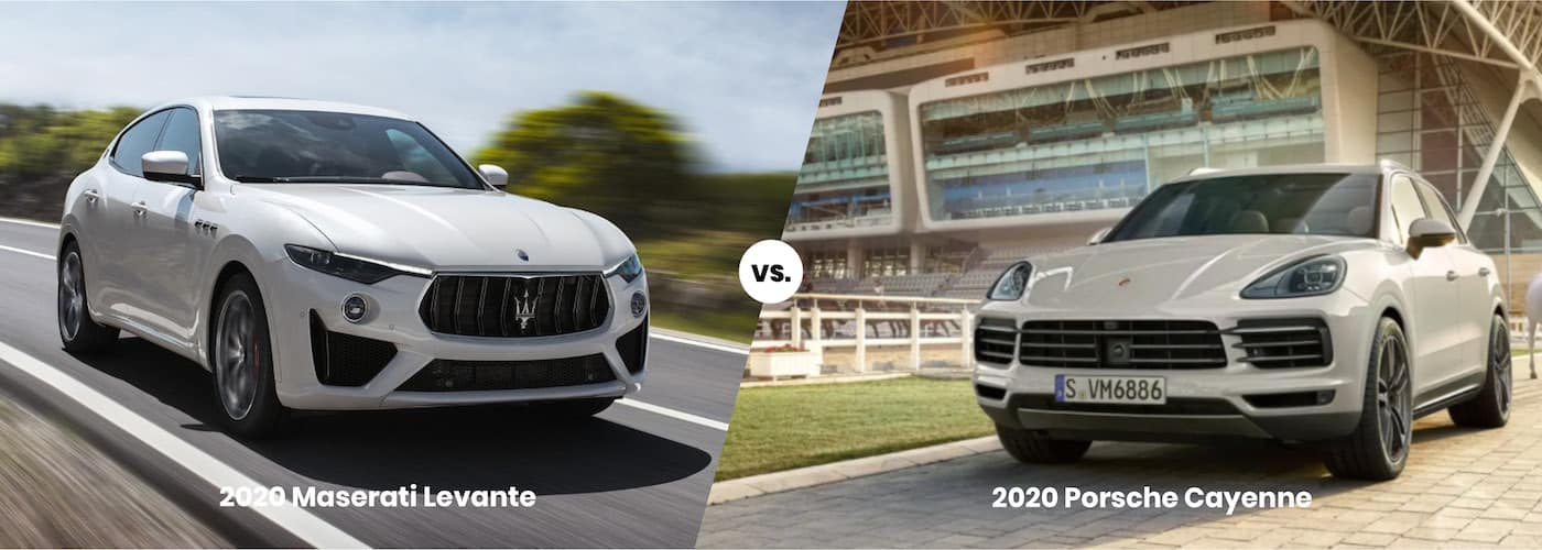 2020 Maserati Levante vs 2020 Porsche Cayenne side by side