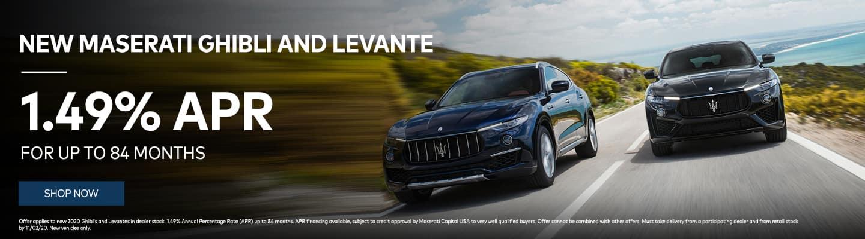 New Maserati Ghibli and Levante