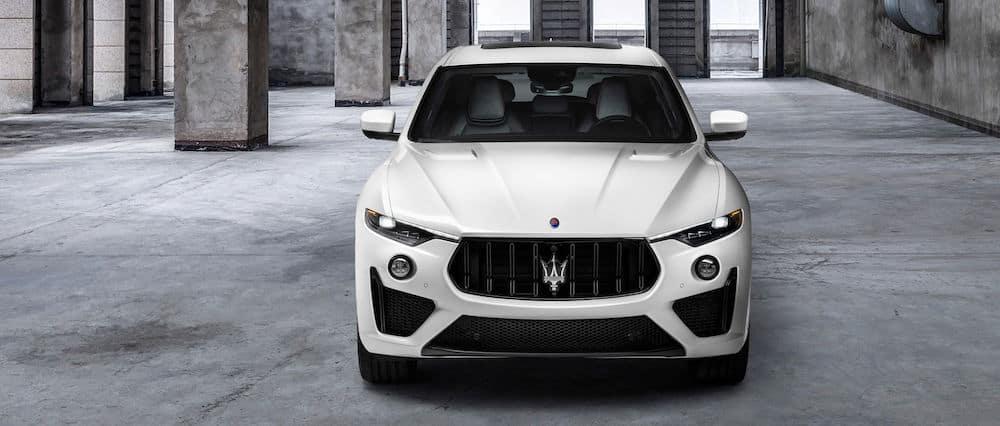 Front view of a 2021 Maserati Levante