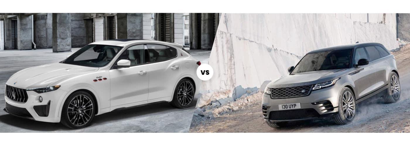 2021 Maserati Levante vs Range Rover Velar