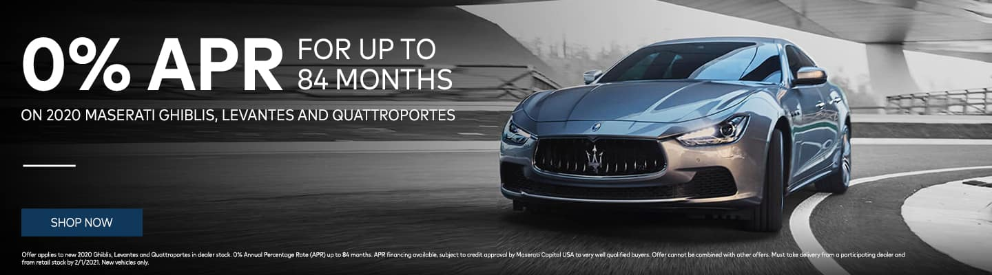 0% APR for up to 84 months