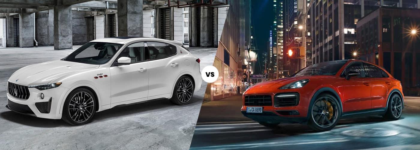 2021 Maserati Levante vs. 2021 Porsche Cayenne