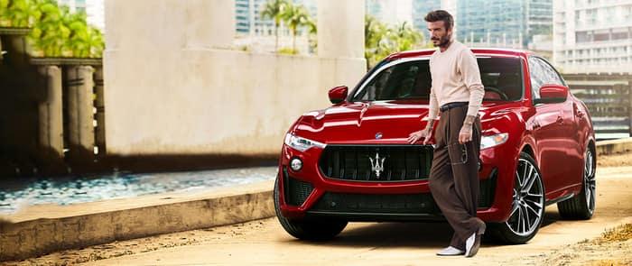 Maserati partners with David Beckham