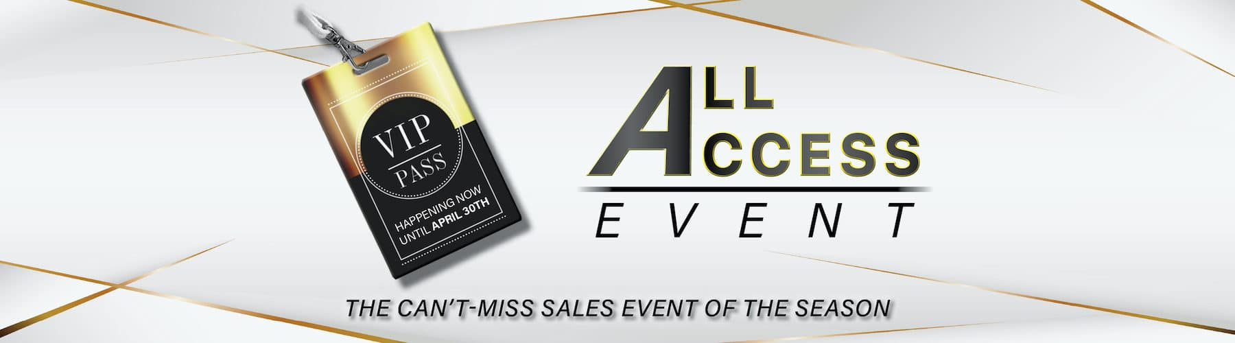All Access Sales Event