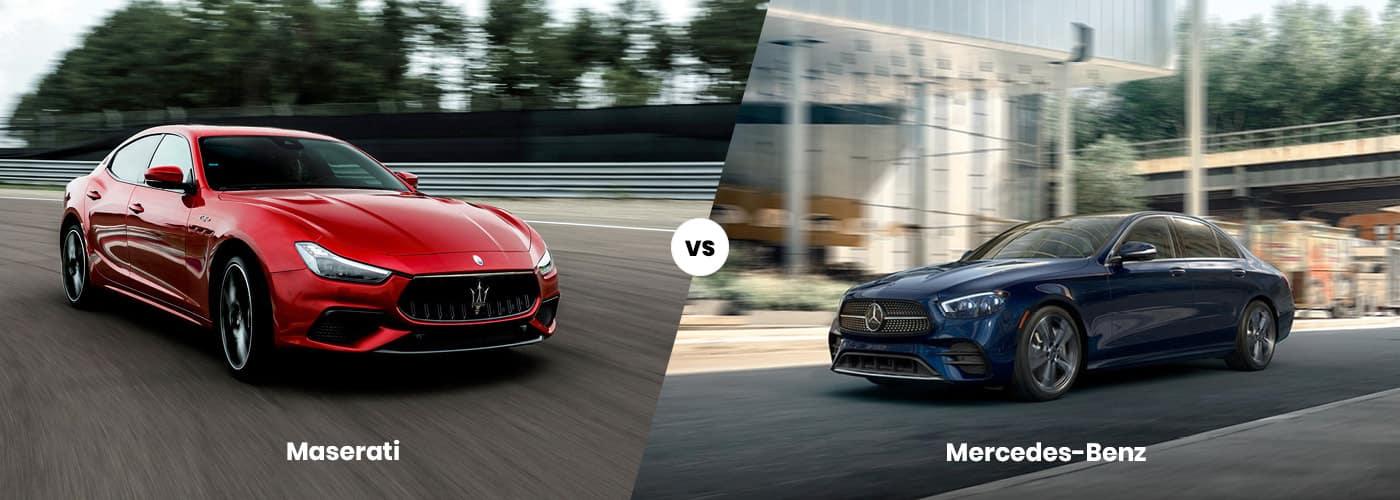 Maserati vs. Mercedes-Benz