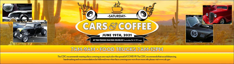 Cars & Coffee - June 19, 2021 at the Penske Racing Museum