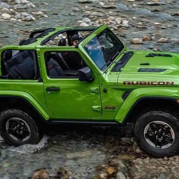 2019 Jeep Wrangler Crossing Water