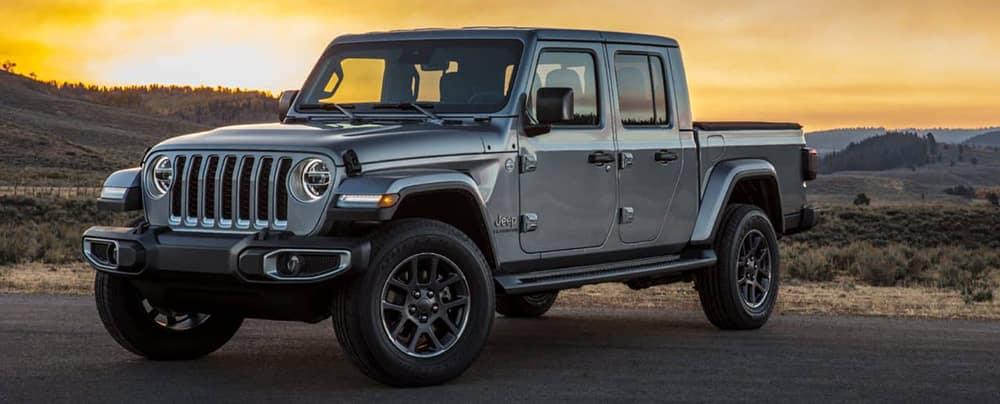 2020 Jeep Gladiator Parked