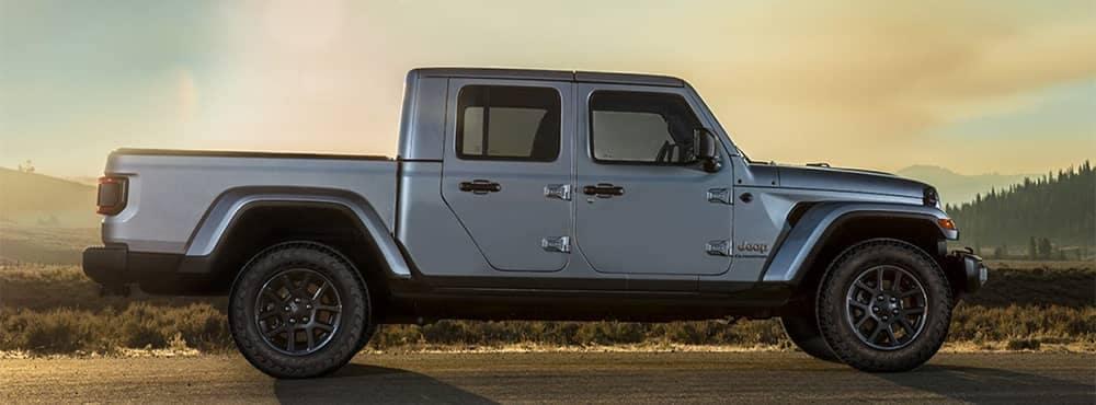 Jeep Gladiator Side Profile View