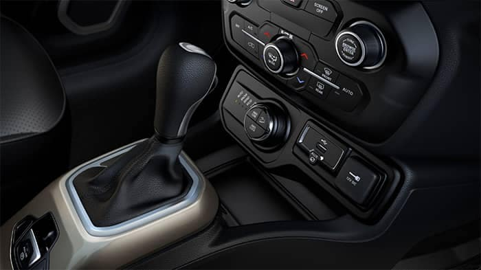 Jeep Renegade Interior Features