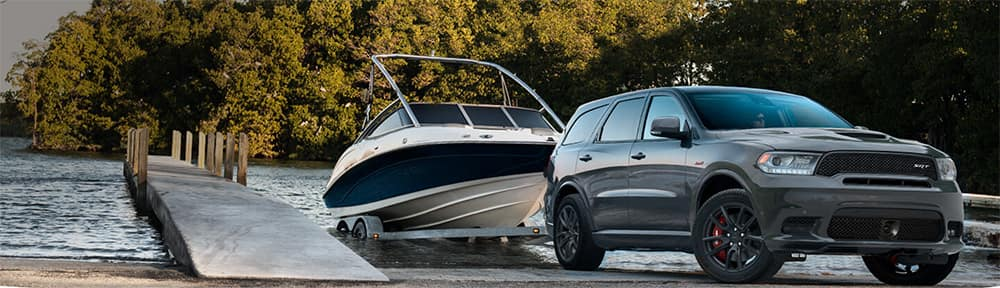Dodge Durango Towing a Boat