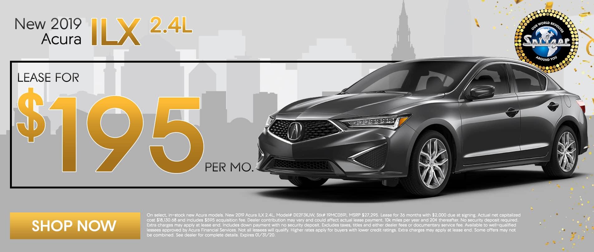 19 ILX | Lease for $195 per mo