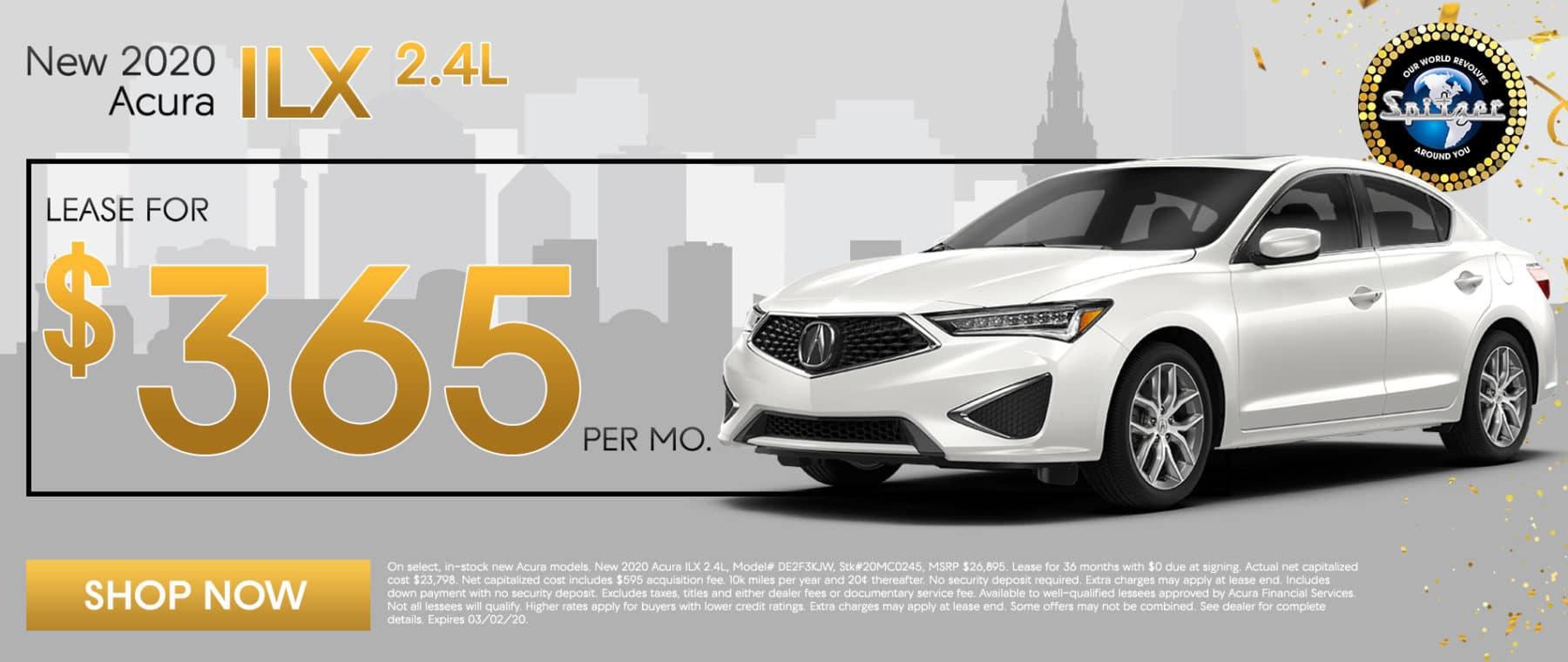20 ILX | Lease for $365 per mo