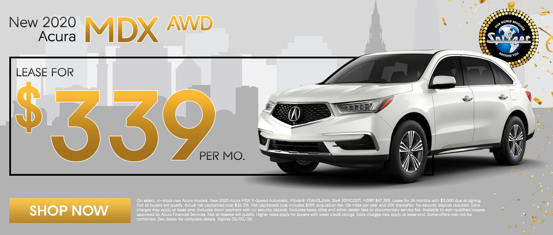 MDX | Lease for $339 per mo