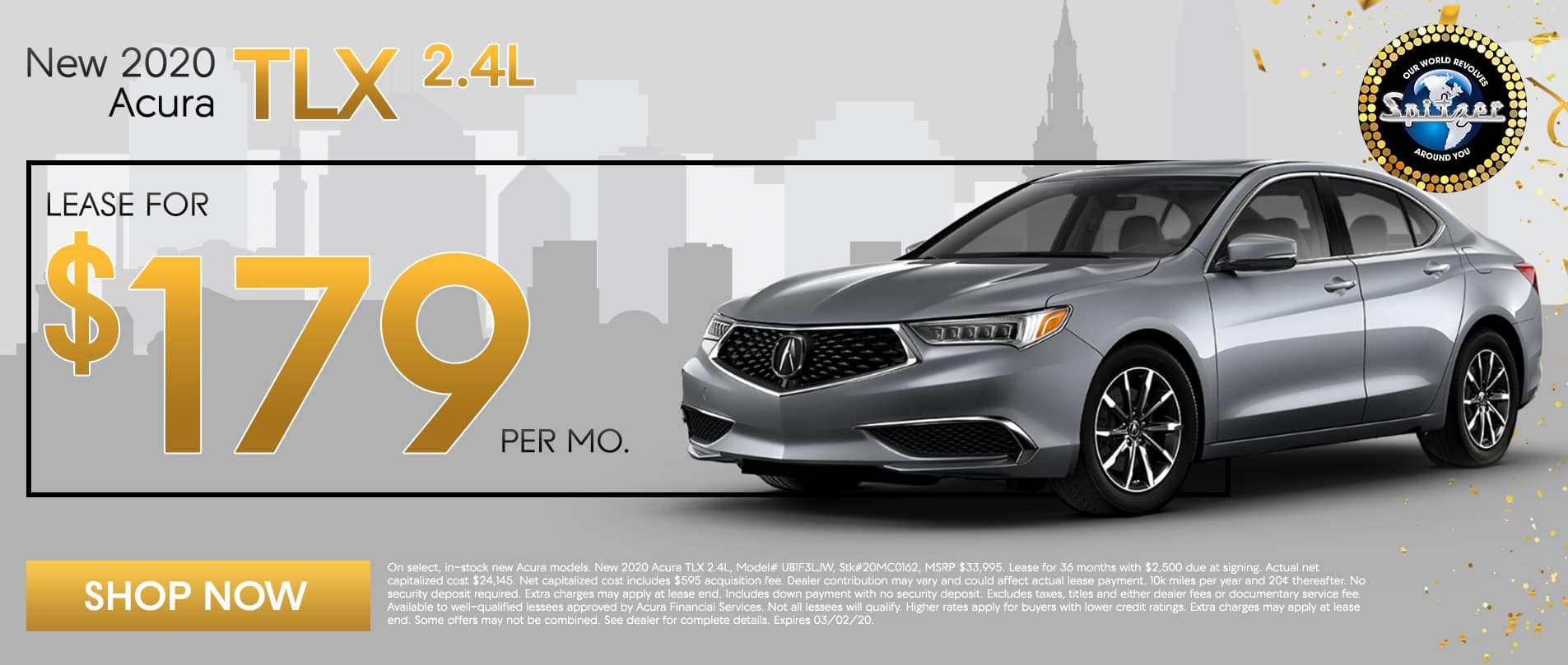 TLX | Lease for $179 per mo