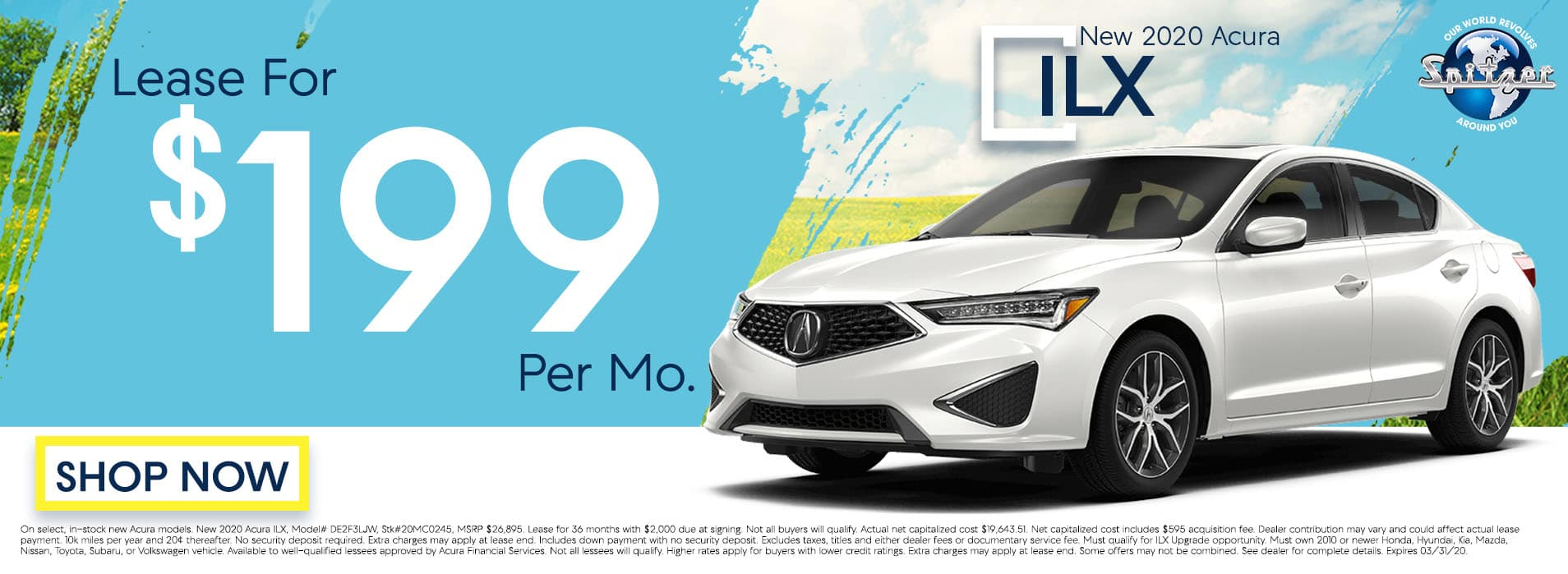 ILX | Lease for $199