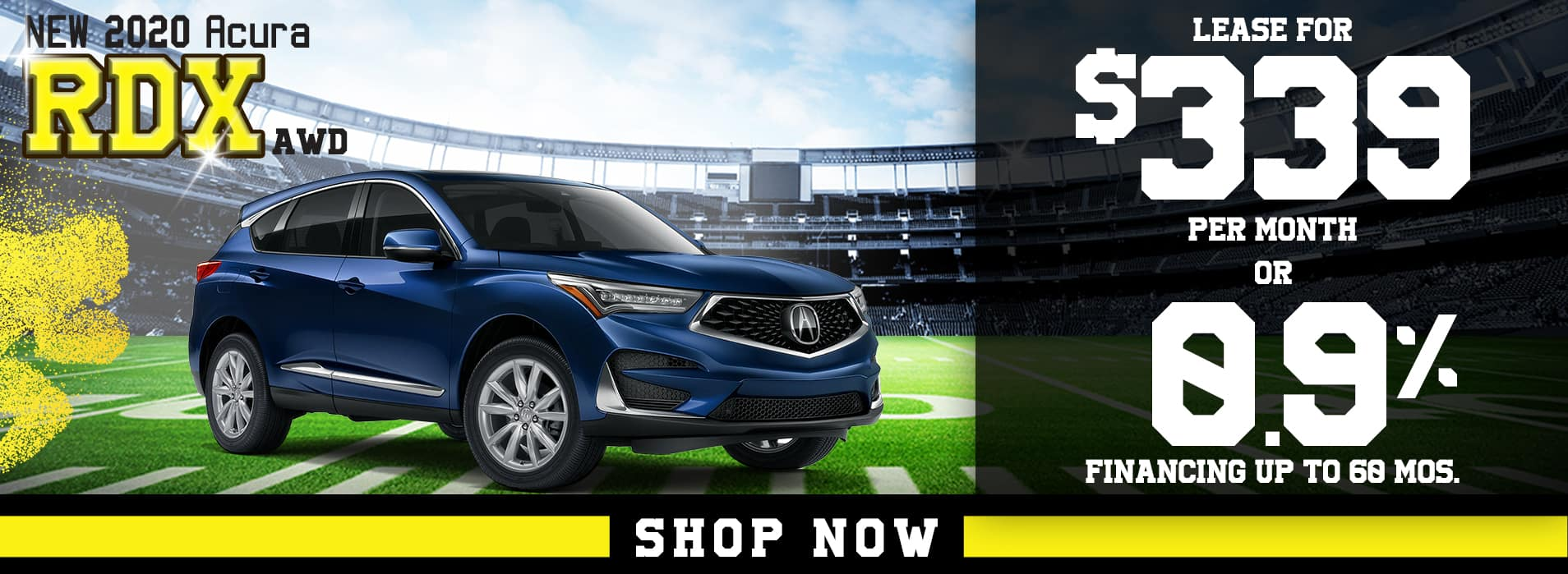 RDX | Lease for $339 per mo