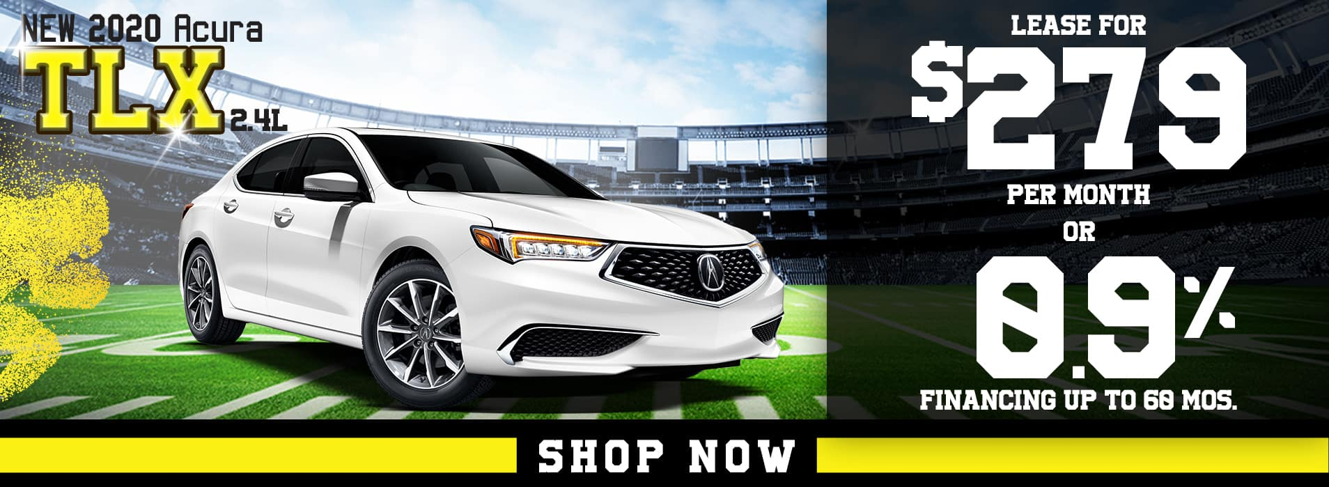 TLX | Lease for $279 per mo