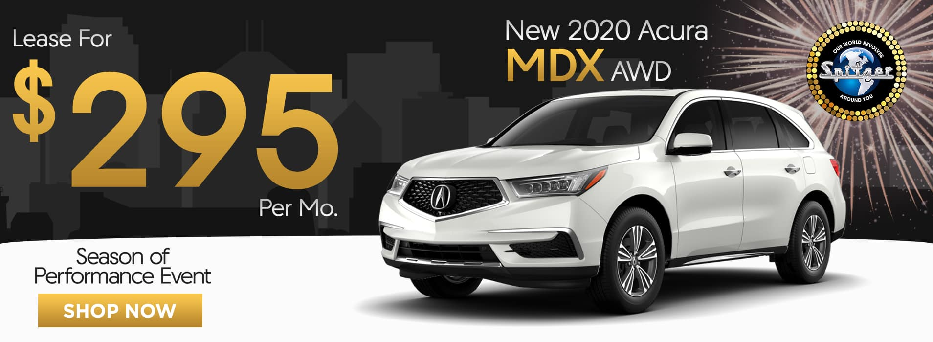 MDX | Lease for $295 per mo