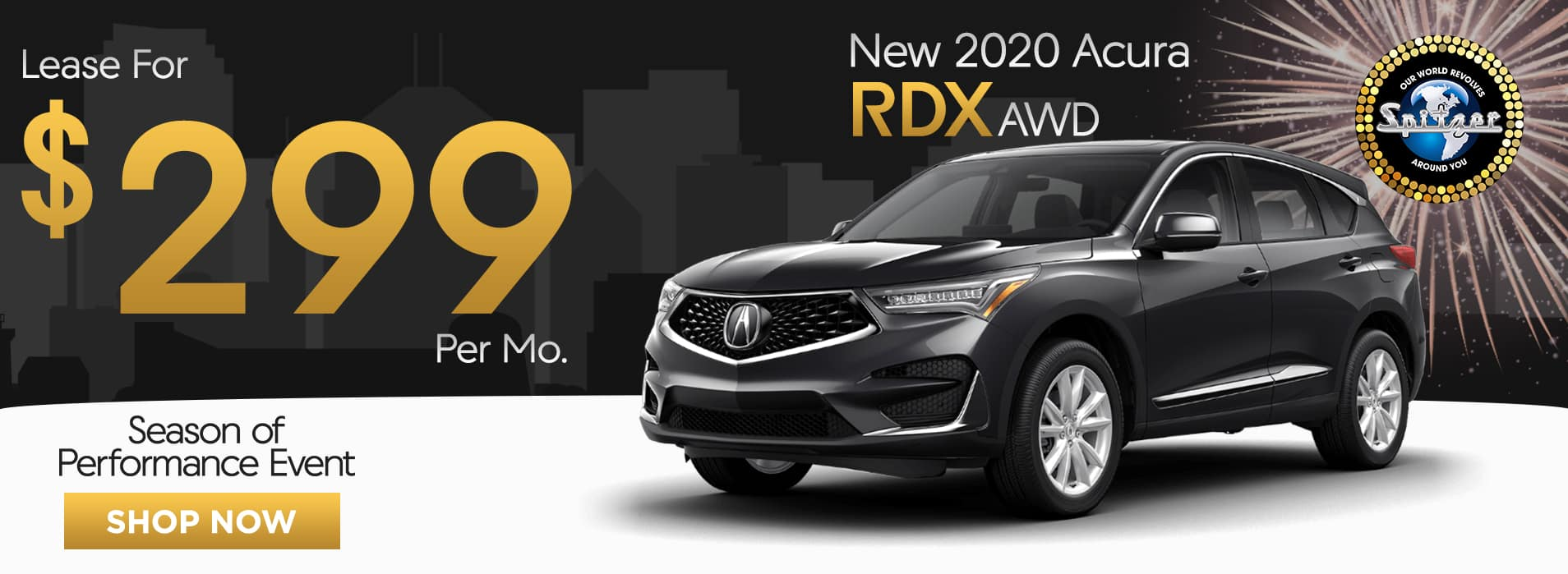 RDX | Lease for $299 per mo